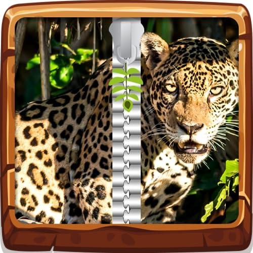 Jungle Animals Zipper UnLock