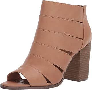 Report Women's BLANCHE Ankle Boot, Tan, 8 M US