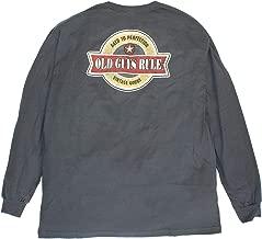OLD GUYS RULE Men's Vintage Star Long Sleeve T-Shirt