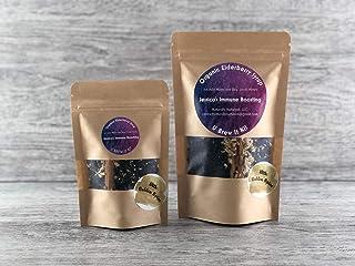 Jessica's 12 oz. Organic Immune Boosting Elderberry Syrup U Brew It Kit with Golden Spice