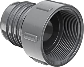 Spears 1435 Series PVC Tube Fitting, Adapter, Schedule 40, Gray, 1-1/4