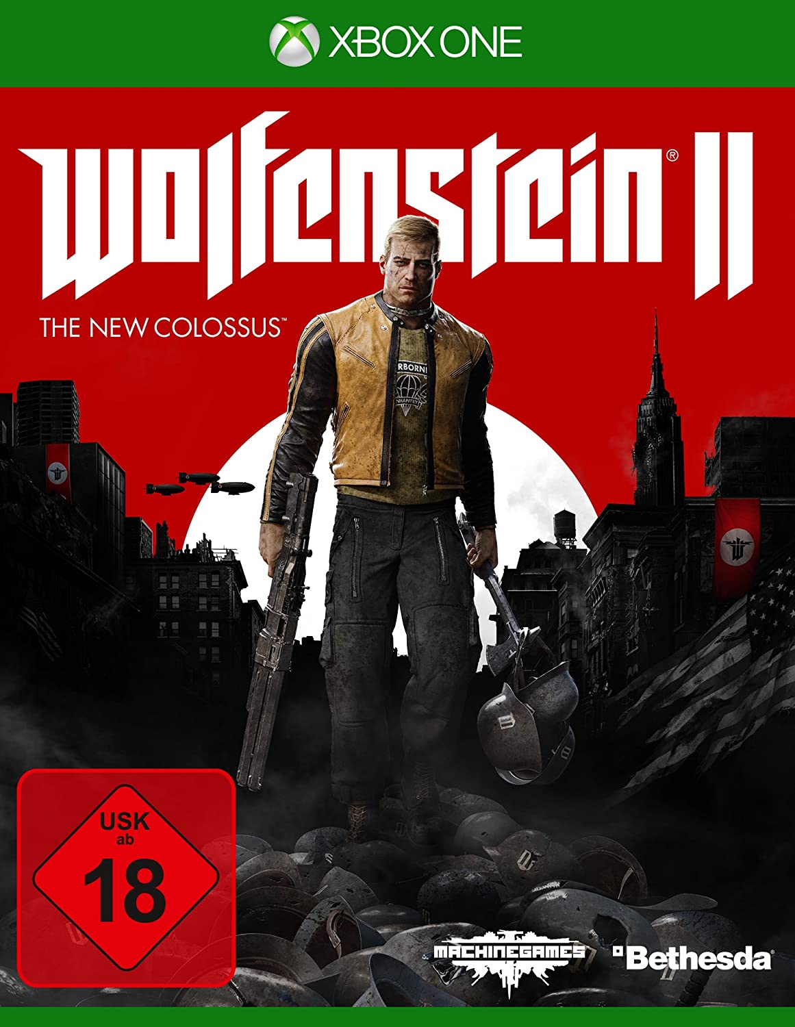 Wolfenstein II: The New Colossus - Xbox One [Importación alemana]