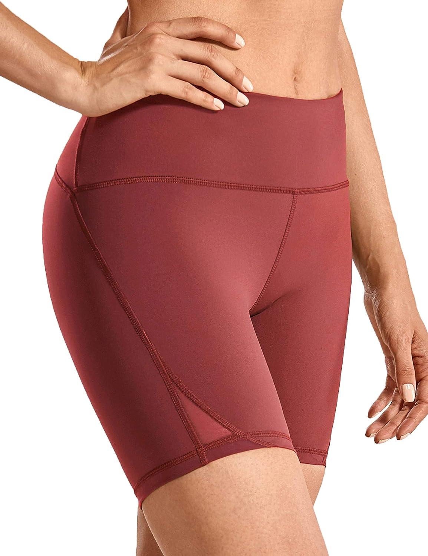 15cm CRZ YOGA Donna Pantaloncini Sportivi Running MeshShorts