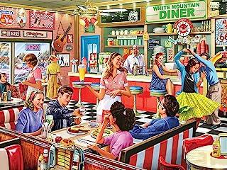 White Mountain Puzzles 1397 American Diner Designer: Steve Crisp Puzzles (1000 Piece)
