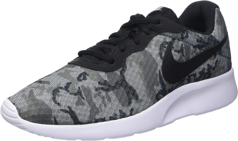 Nike Men's Tanjun Print Running shoes, Grey