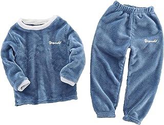 haashpylien Pijama Niñas, Ropa para Niño Lana, Conjunto Dos Piezas con Camiseta Manga Larga y Pantalones, Regalos para Niñ...
