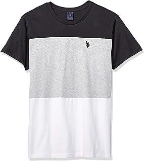 Men's Three Tone Crew Neck T-Shirt