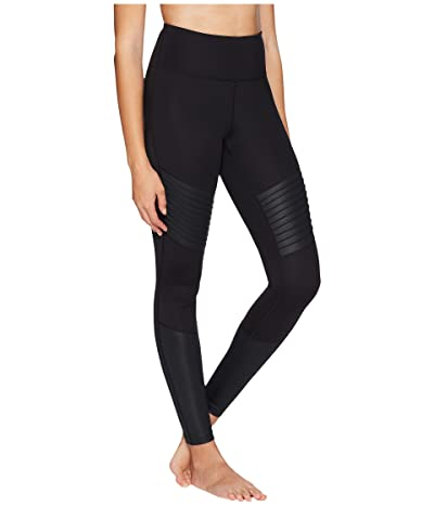 Core 10 Icon Series The Dare Devil Leggings (Black/Black Shine) Women