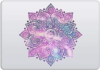 Laptop Stickers MacBook Decal - Removable Vinyl - Mandala Purple Blue Decal Skin for Apple MacBook Air Pro 13 15 inch Mac Retina - Best Decorative Sticker by Artsybb