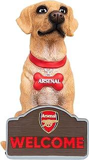 EPL Arsenal FC Football Premier League Championship Labrador Dog Garden Gnome Ornament Indoor/Outdoor