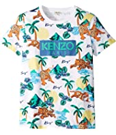Kenzo Kids - All Over Printed Summer Tee (Big Kids)
