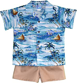 RJC Boys Islanders Hawaiian 2pc Set