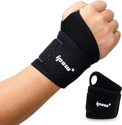 33d1e6eae811c ipow [ 2 PCS Wrist Wraps/Bandage Protection de Poignets/Serre-Poignets  soulager