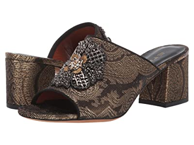 Etro Jacquard Heeled Mule (Multi) Women
