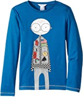 Little Marc Jacobs - Essential Long Sleeve T-Shirt (Little Kids/Big Kids)