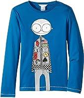Little Marc Jacobs - Essential Long Sleeve T-Shirt (Little Kids/Big Kids)