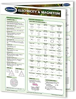 Electricity & Magnetism Guide - Physics Quick Reference Guide by Permacharts