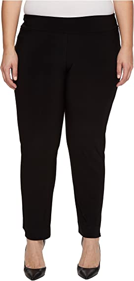 Krazy Larry Plus Size Pull-On Ankle Pants | Zappos.com