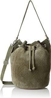 Women's Real Leather Bucket Bag