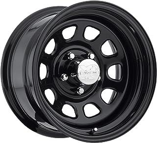 Pro Comp Steel Wheels 51-5862 Rock Crawler Series 51 Black Wheel Size 15x8 Bolt Pattern 5x4.75 Offset 0 Back Spacing 4.5 i...