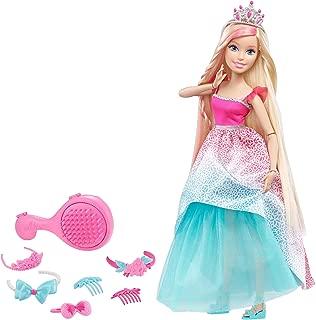Barbie Dreamtopia Princess Doll, Pink/Blue