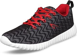 Aqualite Men MESH Black Red Running Shoes