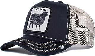 Goorin Bros. `Lone Rider` Animal Farm Trucker Snap Back Baseball Hat Black