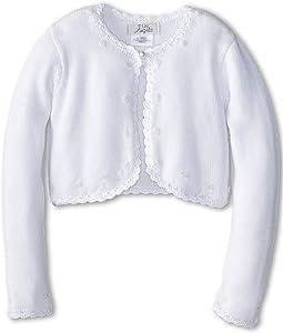 Us Angels - Beaded Cotton Sweater (Little Kids/Big Kids)