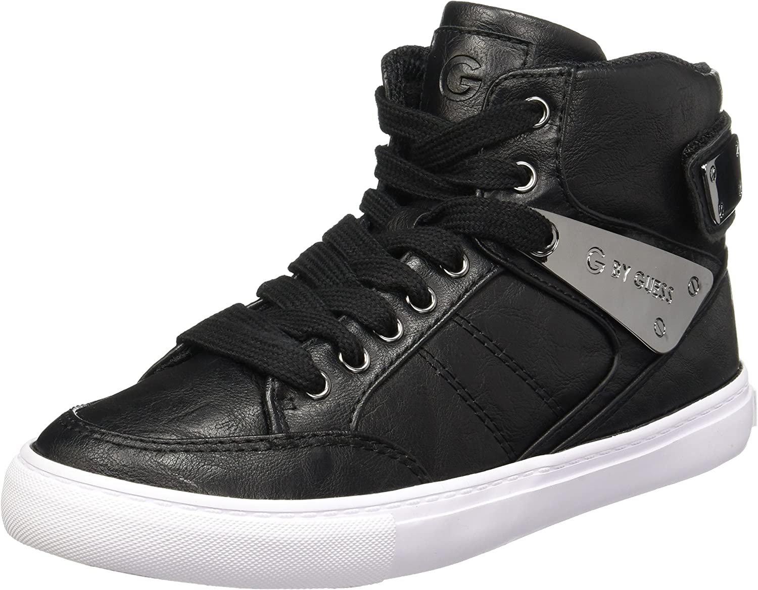 G by Guess Womens Odean Leather Low Top Lace Up