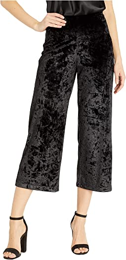 Jerry Crushed Velvet Crop Pants