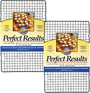 2 X Wilton 2105-6813 Perfect Results Nonstick Cooling Grid, 16 by 10-Inch
