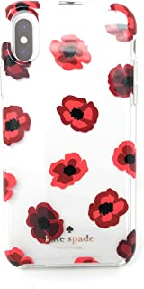 Kate Spade Floral Protective Case for iPhone 8 Plus/7 Plus/6 Plus/6s Plus (Red Roses)