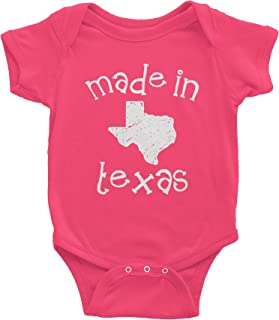 Made in Texas - 001 - Funny Texas Baby Infant Onesie One Piece
