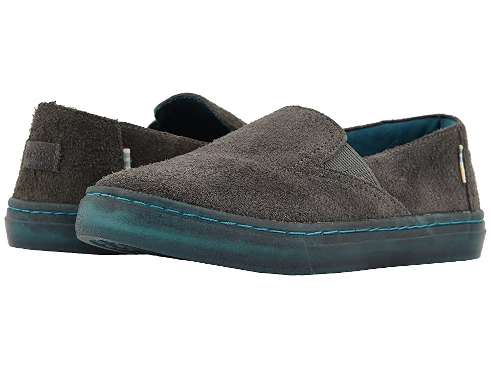 TOMS Kids Luca (Little Kid/Big Kid) (Shade Shaggy Suede Water Resistant) Kid