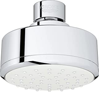 Grohe 26051001 Tempesta Cosmopolitan 100 1 Spray Shower Head 1.5gpm, Starlight Chrome