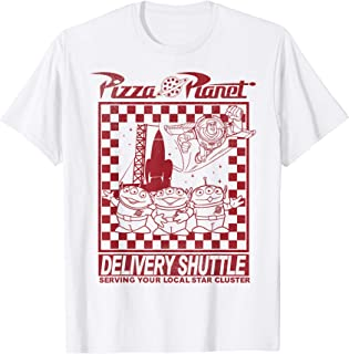 Disney Pixar Toy Story Pizza Planet Delivery Shuttle T-Shirt
