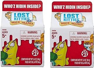 Lost Kitties Mice Mania Singles - Series 3 Blind Pack - 2-Pack