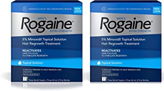 Men's Rogaine Extra Strength Solution 2 pack (3 2oz bottles ea)