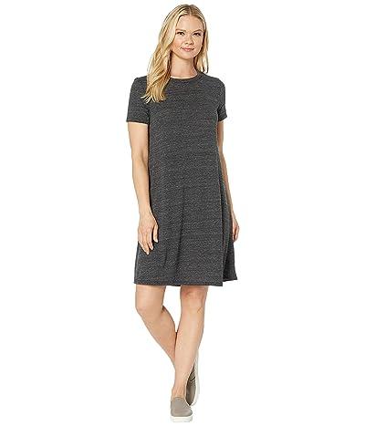 Alternative Eco-Jersey Flare T-Shirt Dress (Eco Black) Women