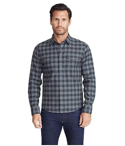 UNTUCKit Heavyweight Wrinkle-Free Flannel Vigouroux Shirt (Grey Plaid) Men