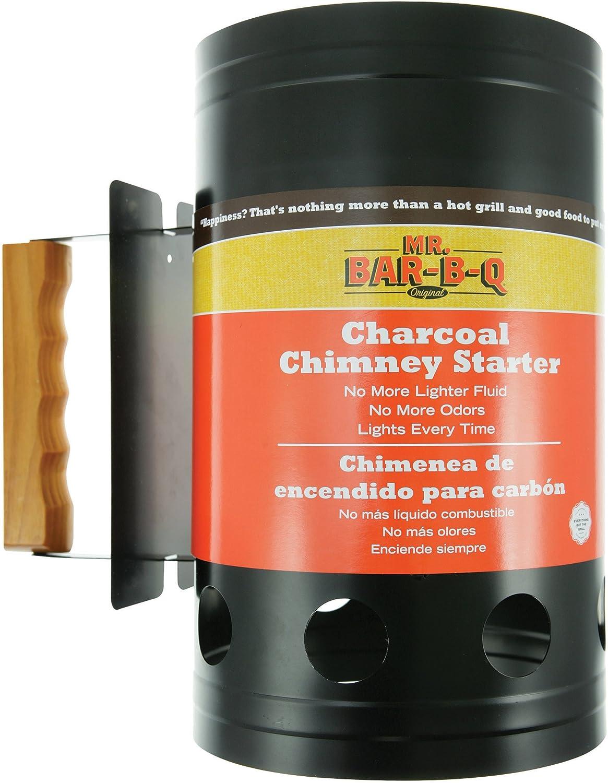 Mr. Direct stock discount Bar-B-Q Chimney half BBQ Starter