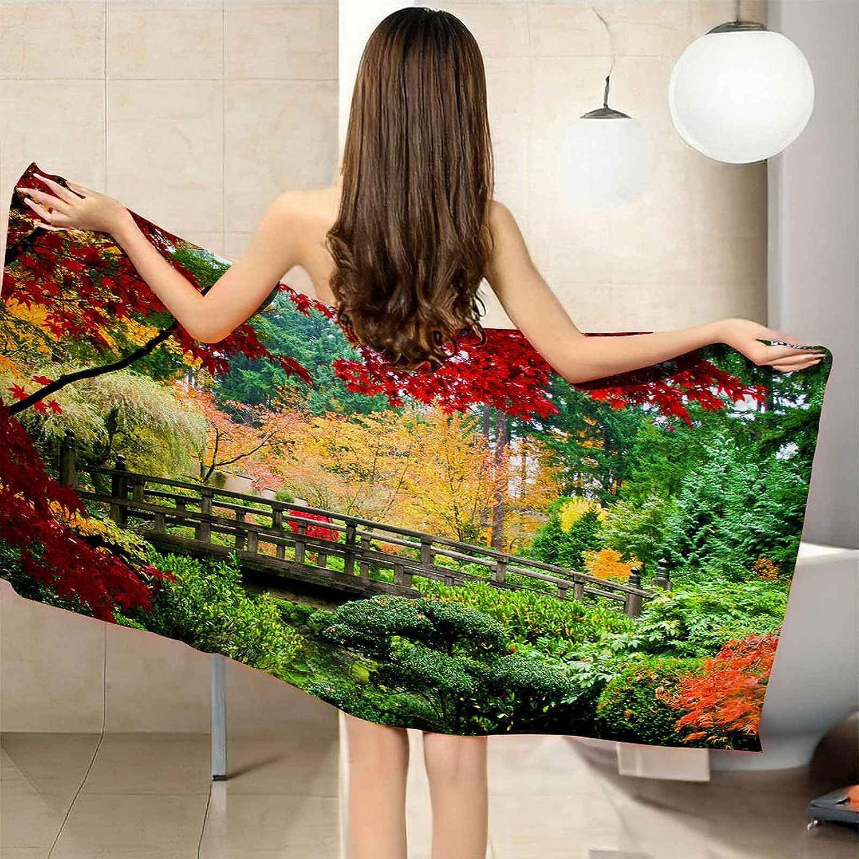 VJEJSE 3D Fashion Beach Towel Bath Small NEW Don't miss the campaign Lightweight bridg