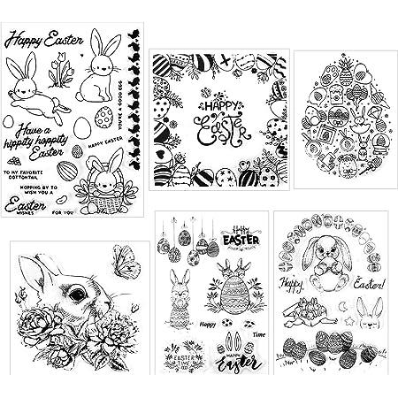 Silicone Stamps for DIY Scrapbooking Album Paper Cards Making Decoration Autone Santa Gnome Clear Stamps for Cards Making