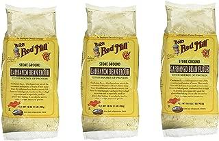 Bob's Red Mill Garbanzo Bean Flour 16 oz. (Pack of 3)