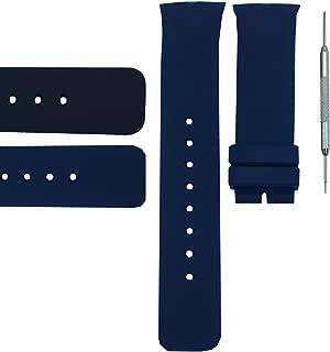 27mm Watch Band Strap for A15649G, A15651G, A21005G, A23001G, A34001G, A34005G   Free Spring Bar Tool