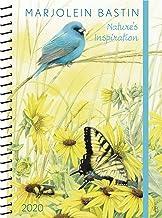 Marjolein Bastin 2020 Monthly/Weekly Planner Calendar: Nature's Inspiration