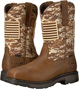 Ariat Workhog Patriot Steel Toe