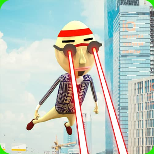 Stickman Laser Super Hero - Save the City