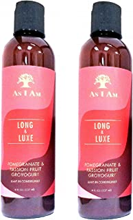 As I Am Long & Luxe GroYogurt Leave-in Conditioner 8oz