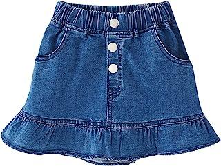 Umeyda Ameyda Girls' Denim Skirt